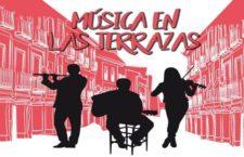 MÚSICA EN LAS TERRAZAS 2019, conciertos nocturnos en terrazas de Alcalá de Henares