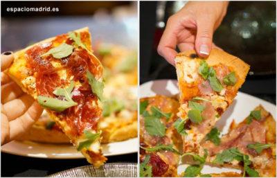 Pizzas gourmet de ibéricos, placer en estado puro