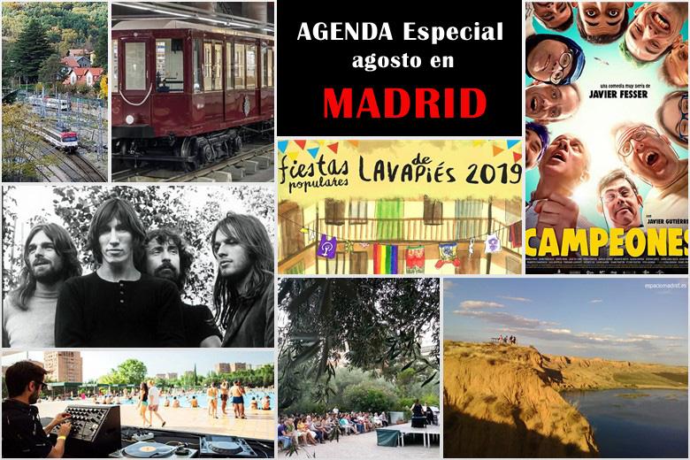 Especial Agosto en Madrid: Qué hacer del 1 de agosto al 1 de septiembre 2019