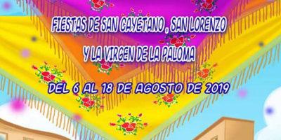 Programación Fiestas La Virgen de la Paloma 2019