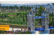 Parque Europa celebra su aniversario con un gran espectáculo de luz, agua y sonido