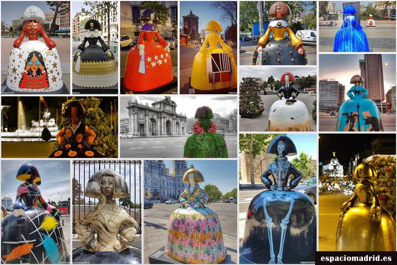 ¡Las meninas vuelven a invadir las calles de Madrid!