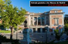 Entrada gratuita a los Museos de Madrid el 12 de octubre 2019