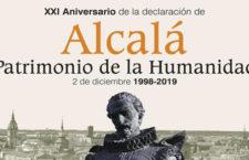 Actividades gratuitas por el 21 Aniversario de Alcalá como Ciudad Patrimonio de la Humanidad