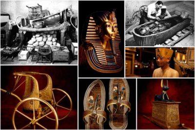 Vuelve a Madrid la exposición Tutankhamón: La tumba y sus tesoros