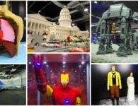 Llega a Madrid la exposición de piezas de LEGO más grande de Europa