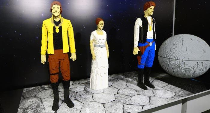 Exposición LEGO Madrid