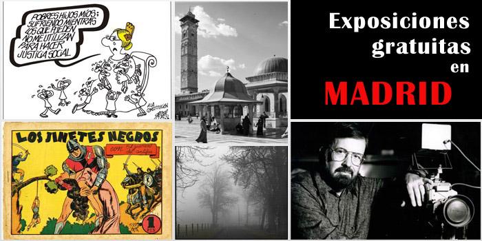 exposiciones gratuitas en Madrid