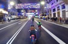 LUCICLETA 2019, ruta en bici por las luces de Navidad en Madrid