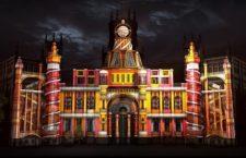 Espectacular videomapping en el Palacio de Cibeles 2020