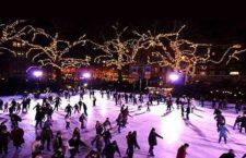 Pista de patinaje sobre hielo en Matadero Madrid 2019-2020