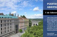 Conciertos y visitas guiadas en la jornada de puertas abiertas de la Escuela Superior de Música Reina Sofía 2020