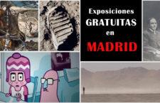 Exposiciones gratuitas e interesantes en Madrid para 2020
