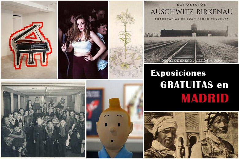 12 Exposiciones interesantes y gratuitas en Madrid 2020