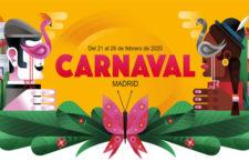 Programación Carnavales Madrid, del 21 al 26 febrero 2020