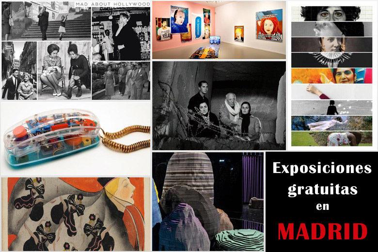 20 Exposiciones interesantes y gratuitas en Madrid 2020