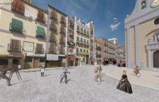 Tour virtual 3D por la Puerta del Sol de 1854