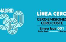 Se pone en marcha la primera Línea Cero gratuita entre Atocha y Moncloa