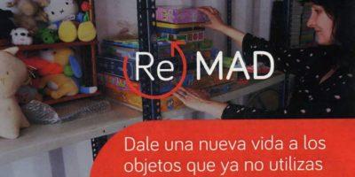 ReMAD. Sistema de intercambio gratuito de objetos en Madrid