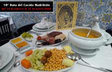 10ª Ruta del Cocido Madrileño, del 14 de febrero al 31 de marzo 2020