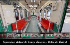 Exposición virtual de trenes clásicos en Chamartín