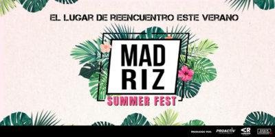 Madriz Summer Fest, del 15 de agosto al 15 de septiembre 2020