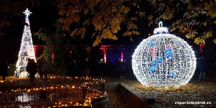 Real Jardín Botánico. Iluminación navideña 2019