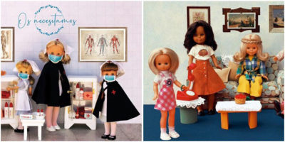 Exposición historia de la muñeca Nancy en Moda Shopping