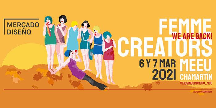 Vuelve el Mercado de Diseño con Femme Creators a Chamartín
