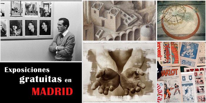 Exposiciones interesantes y gratuitas en Madrid 2021
