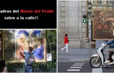 Los cuadros del Museo del Prado salen a la calle