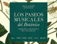 Paseos musicales nocturnos en el Real Jardín Botánico